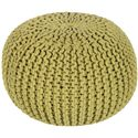 "Surya Rugs Poufs 20"" x 20"" x 14"" Malmo Pouf - Item Number: MLPF-001"