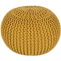 "Surya Rugs Poufs 20"" x 20"" x 14"" Malmo Pouf - Item Number: MLPF-002"