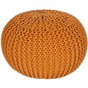 "Surya Rugs Poufs 20"" x 20"" x 14"" Malmo Pouf - Item Number: MLPF-005"