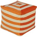 "Surya Rugs Poufs 18"" x 18"" x 18"" Playhouse Pouf - Item Number: PHPF001-181818"