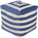 "Surya Poufs 18"" x 18"" x 18"" Playhouse Pouf - Item Number: PHPF003-181818"