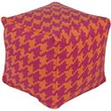 "Surya Rugs Poufs 18"" x 18"" x 18"" Playhouse Pouf - Item Number: PHPF006-181818"