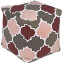 "Surya Rugs Poufs 18"" x 18"" x 18"" Playhouse Pouf - Item Number: PHPF009-181818"