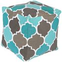 "Surya Rugs Poufs 18"" x 18"" x 18"" Playhouse Pouf - Item Number: PHPF010-181818"