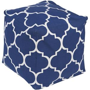 "Surya Poufs 18"" x 18"" x 18"" Playhouse Pouf"