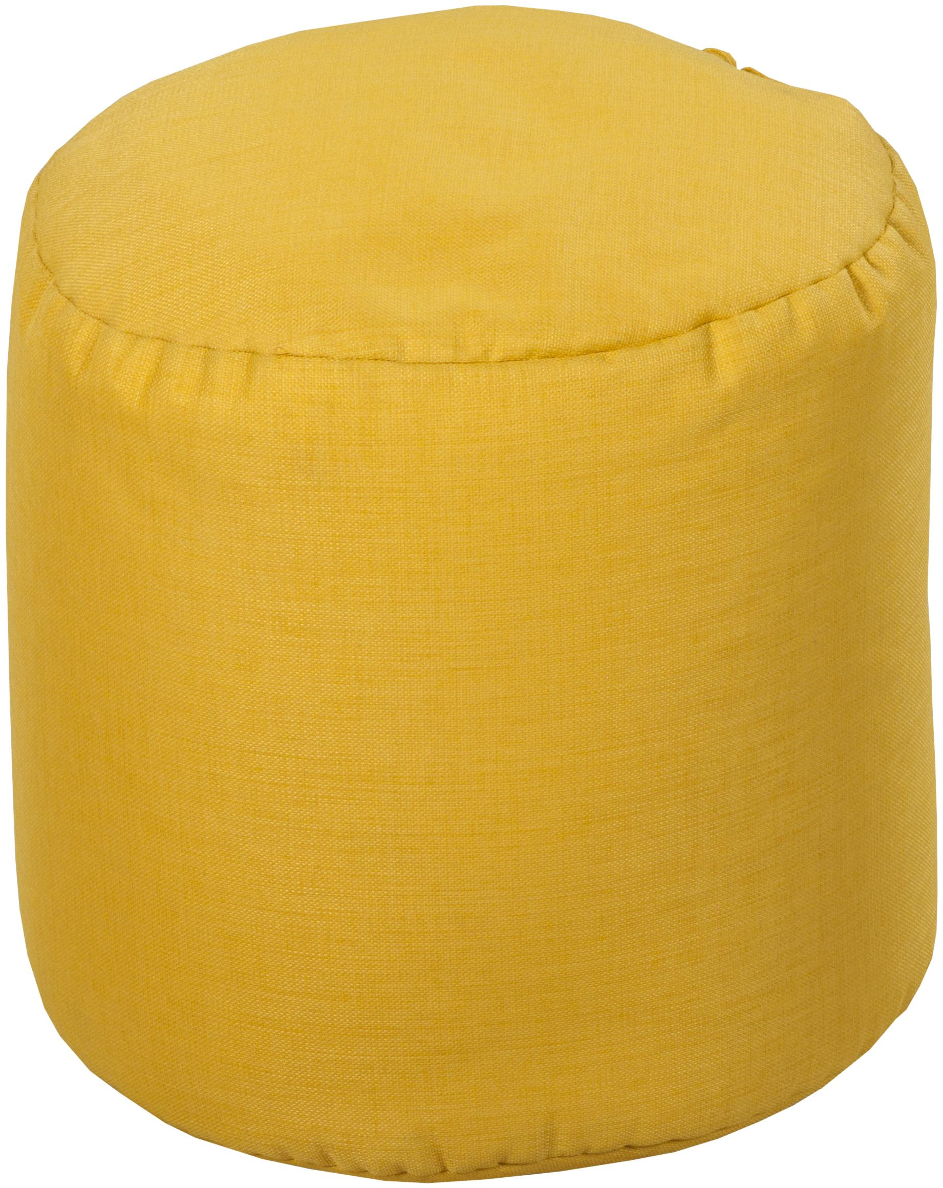 """Surya Rugs Poufs Round 18"""" Pouf - Item Number: POUF-108"""
