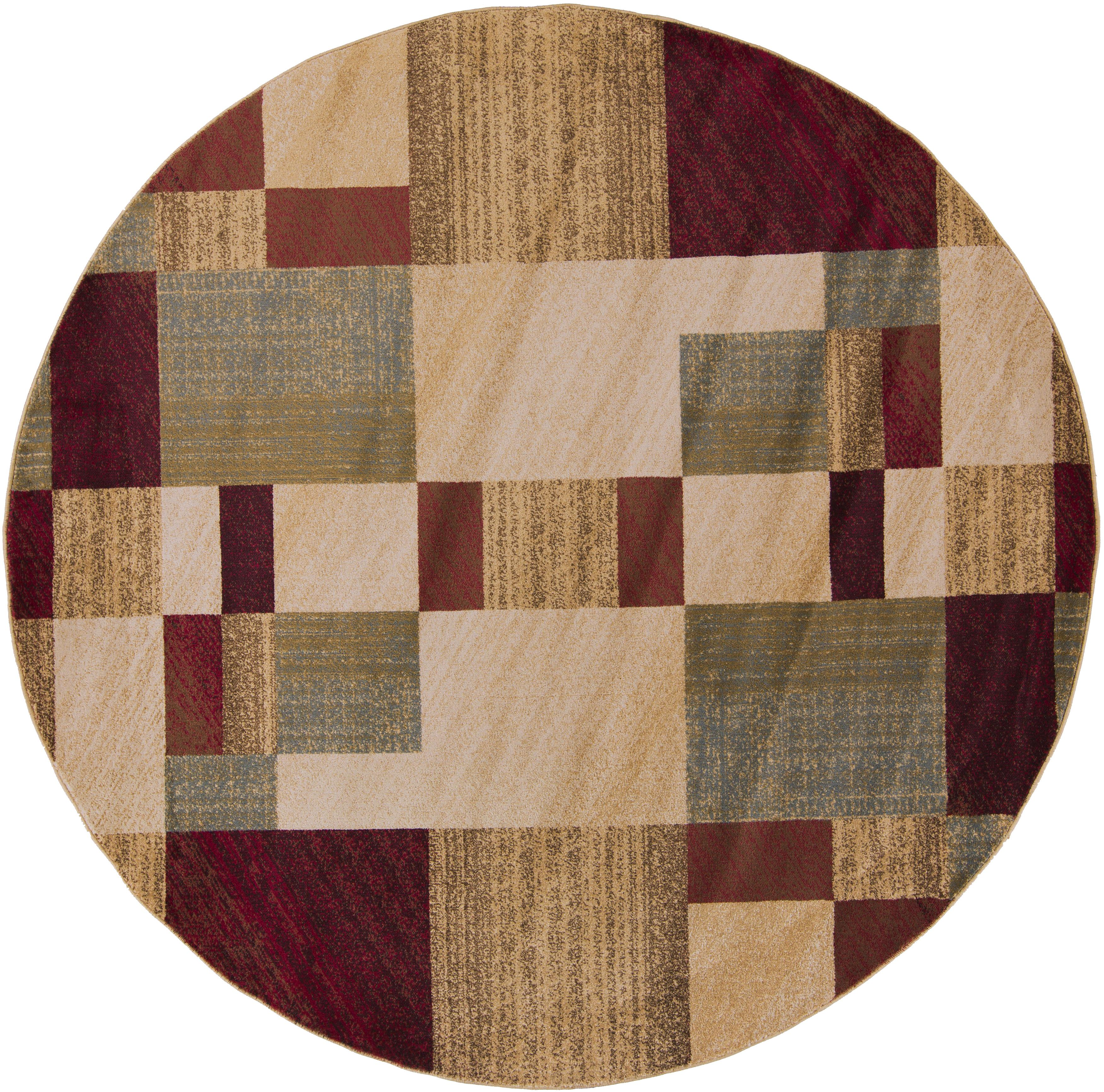 Surya Rugs Riley 8' Round - Item Number: RLY5006-8RD