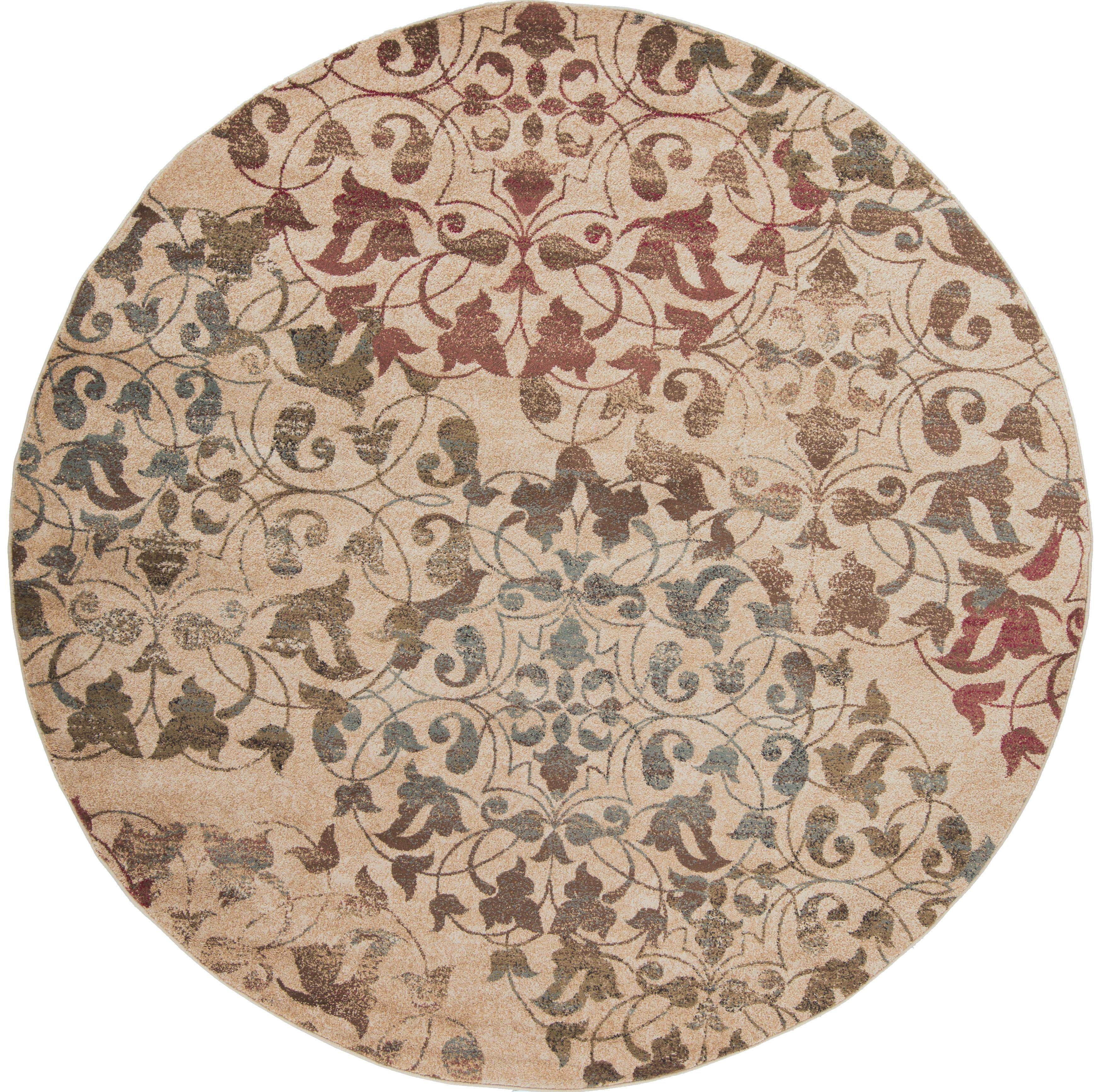 Surya Riley 8' Round - Item Number: RLY5009-8RD