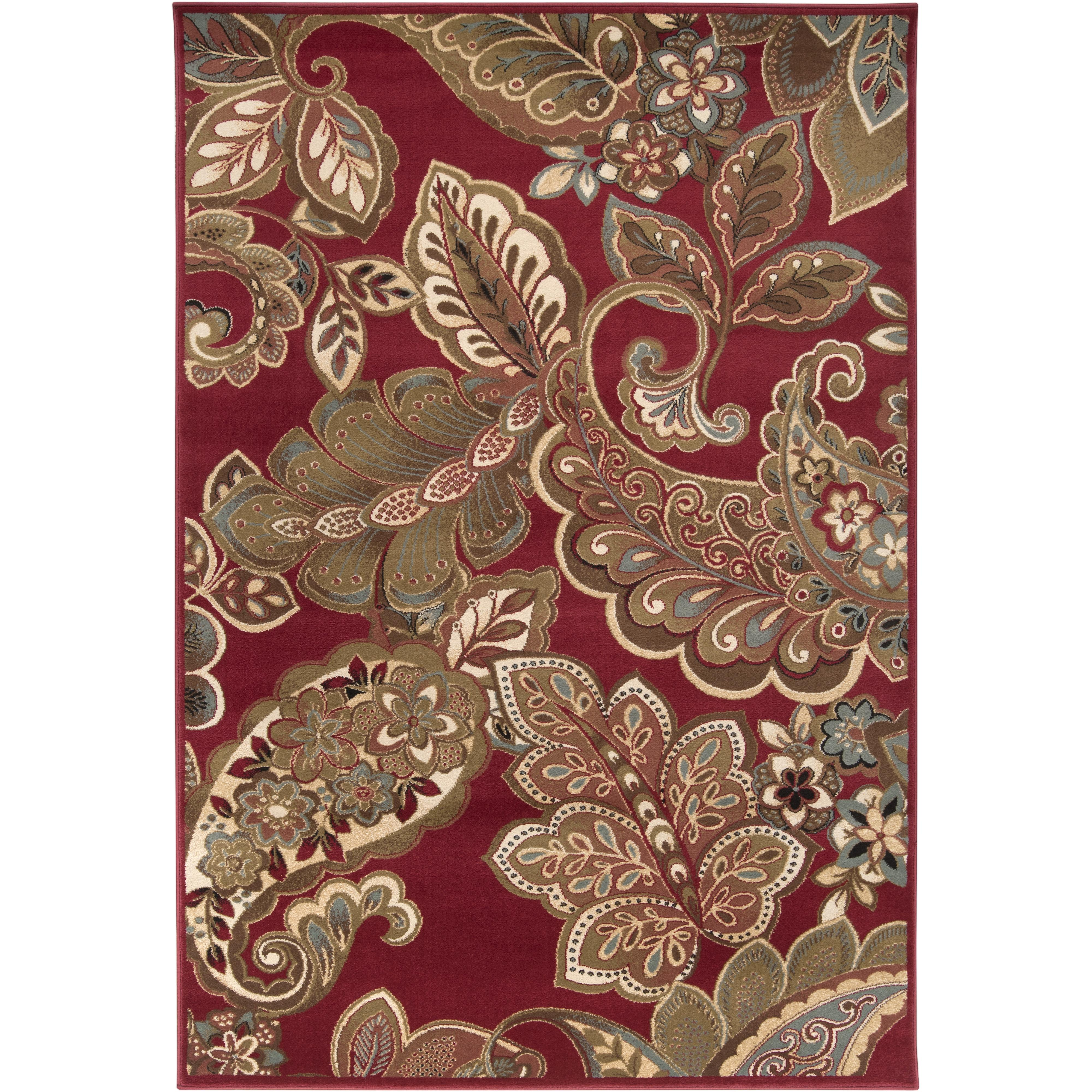 "Surya Rugs Riley 4' x 5'5"" - Item Number: RLY5020-455"