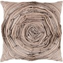 Surya Rustic Romance 18 x 18 x 4 Down Throw Pillow - Item Number: AR002-1818D
