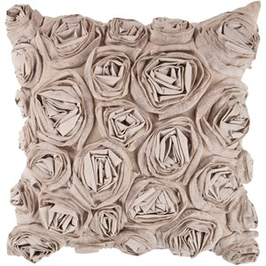 Surya Rustic Romance 22 x 22 x 5 Down Throw Pillow
