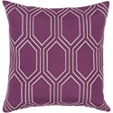 Surya Skyline 18 x 18 x 4 Polyester Throw Pillow - Item Number: BA006-1818P