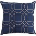 Surya Skyline 20 x 20 x 4 Polyester Throw Pillow - Item Number: BA013-2020P