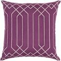 Surya Skyline 22 x 22 x 5 Down Throw Pillow - Item Number: BA020-2222D