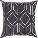Surya Skyline 22 x 22 x 5 Polyester Throw Pillow - Item Number: BA025-2222P