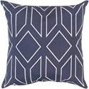 Surya Skyline 18 x 18 x 4 Polyester Throw Pillow - Item Number: BA027-1818P
