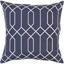 Surya Skyline 22 x 22 x 5 Polyester Throw Pillow - Item Number: BA037-2222P