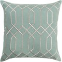 Surya Skyline 22 x 22 x 5 Down Throw Pillow - Item Number: BA038-2222D