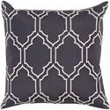 Surya Skyline 18 x 18 x 4 Down Throw Pillow - Item Number: BA045-1818D