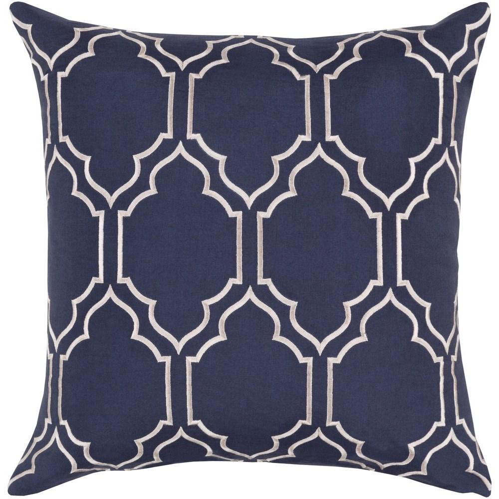 Surya Skyline 22 x 22 x 5 Polyester Throw Pillow - Item Number: BA047-2222P