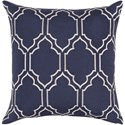 Surya Skyline 22 x 22 x 5 Polyester Throw Pillow - Item Number: BA047-2222P