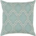 Surya Skyline 22 x 22 x 5 Polyester Throw Pillow - Item Number: BA048-2222P