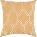 Surya Skyline 22 x 22 x 5 Polyester Throw Pillow - Item Number: BA050-2222P