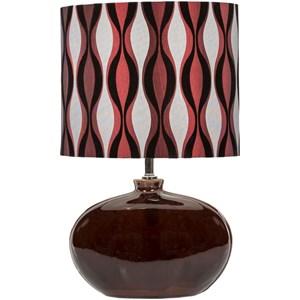 Surya Stockton Chocolate Modern Table Lamp