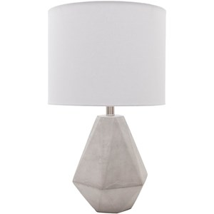 Surya Stonington Natural Finish Modern Table Lamp