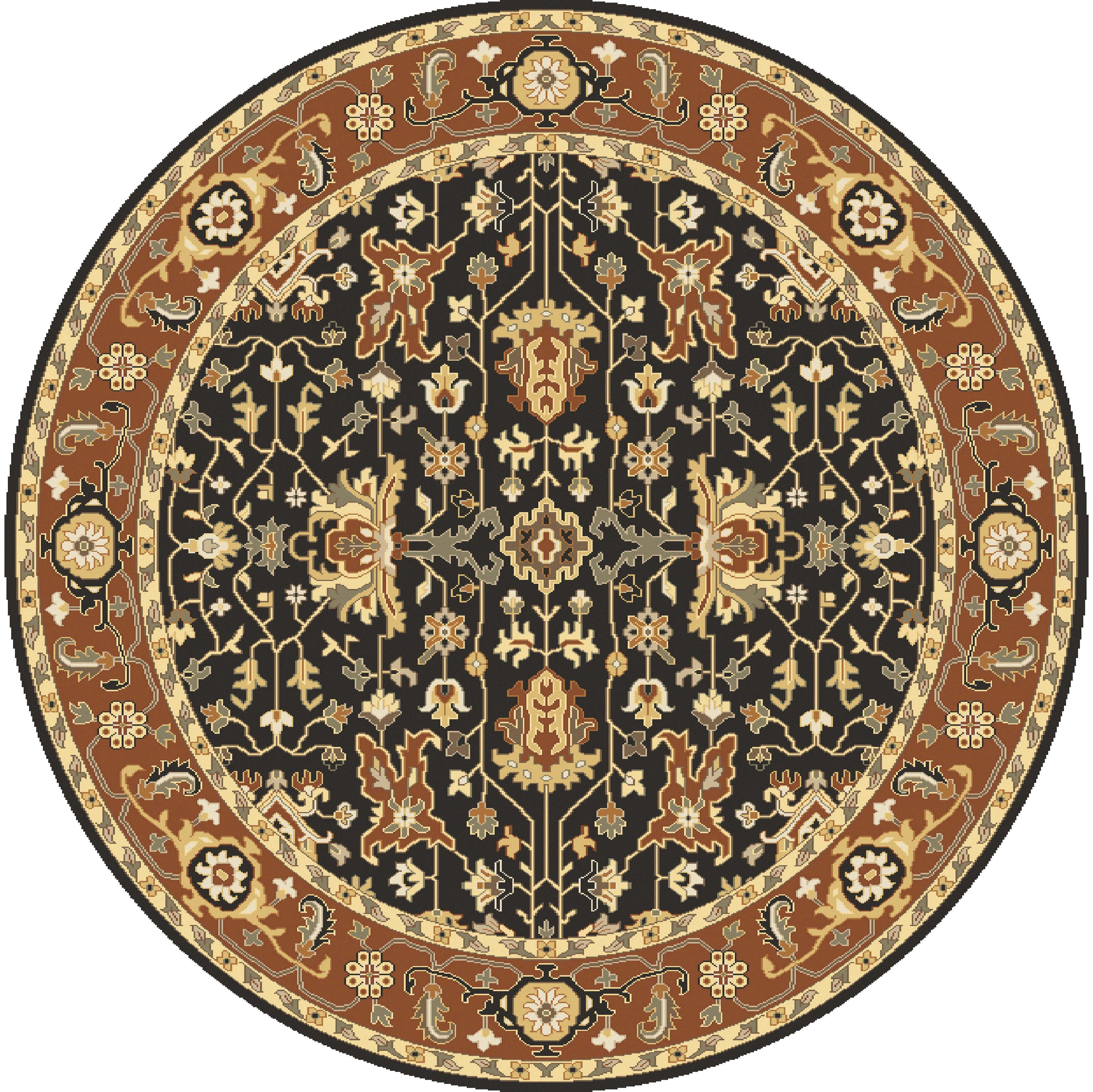 Surya Taj Mahal 8' Round - Item Number: TJ6599-8RD