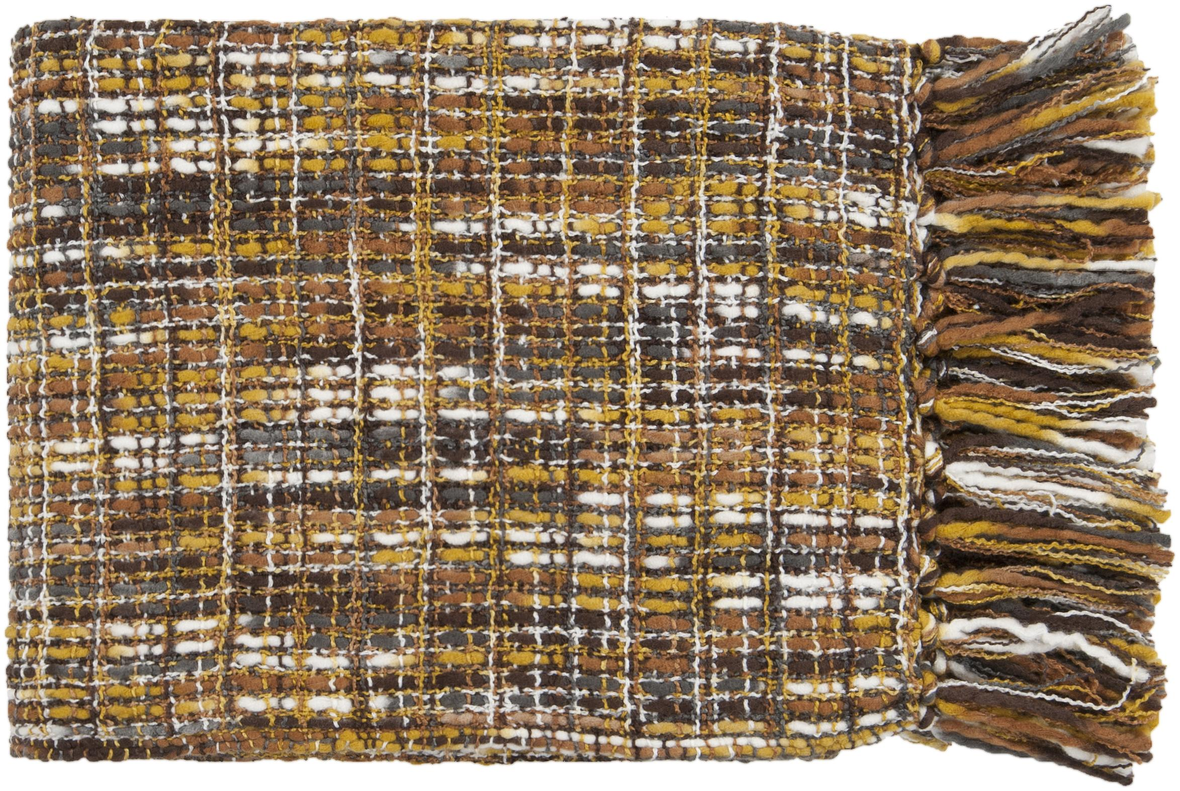 "Surya Throw Blankets Tabitha 50"" x 60"" Throw - Item Number: TAT8201-5060"