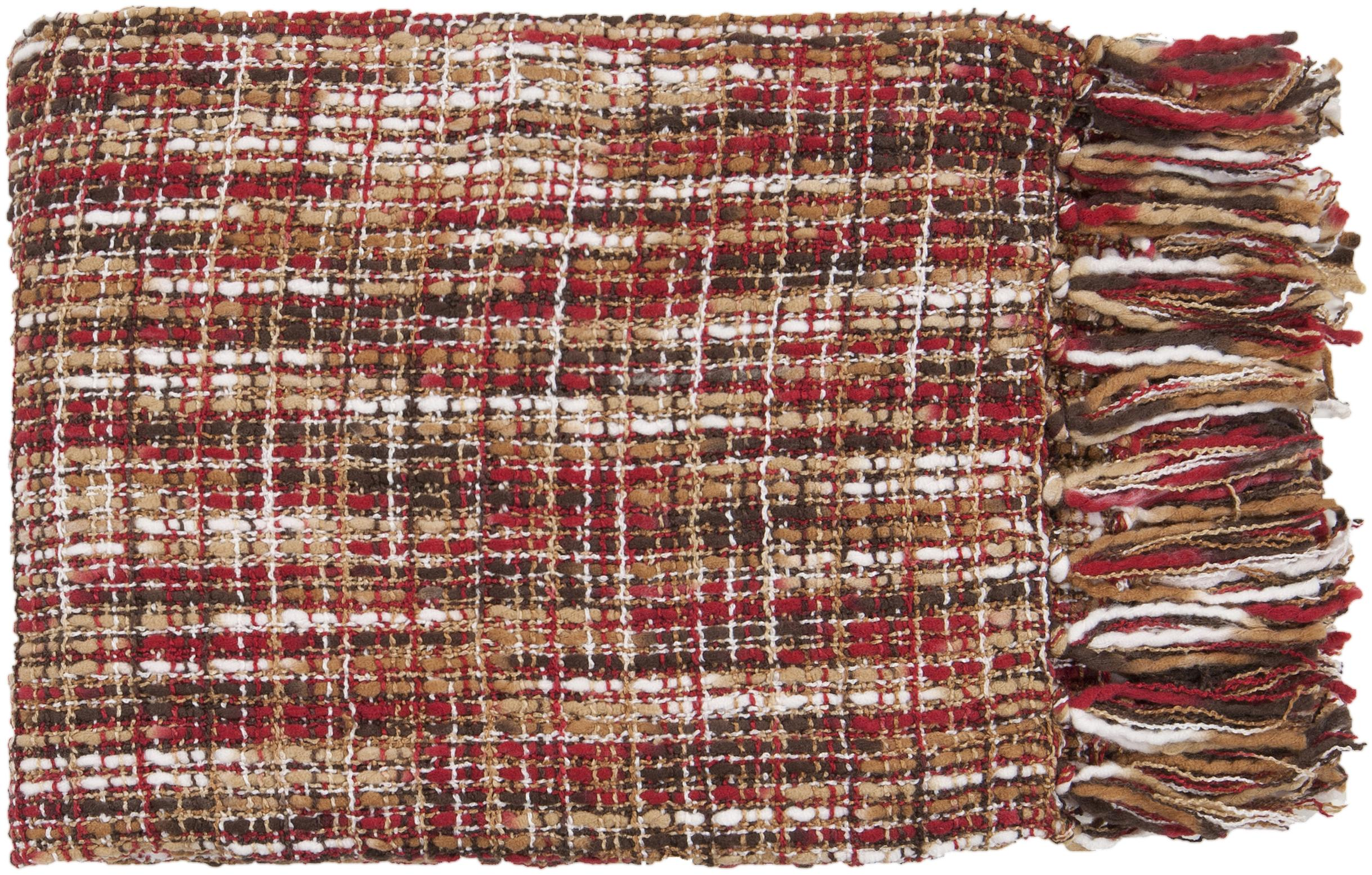 "Surya Throw Blankets Tabitha 50"" x 60"" Throw - Item Number: TAT8202-5060"