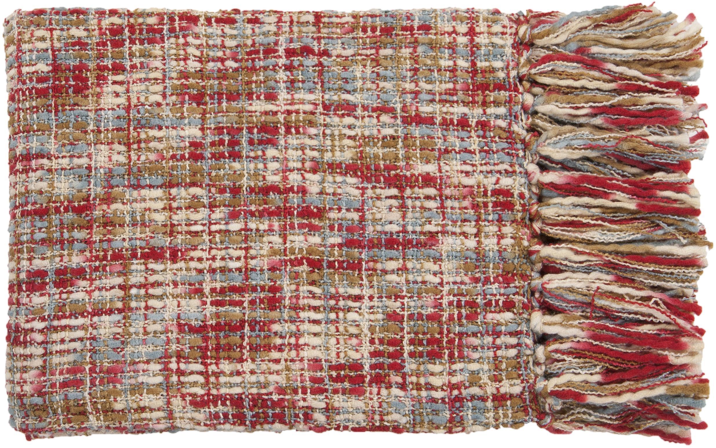 "Surya Throw Blankets Tabitha 50"" x 60"" Throw - Item Number: TAT8203-5060"