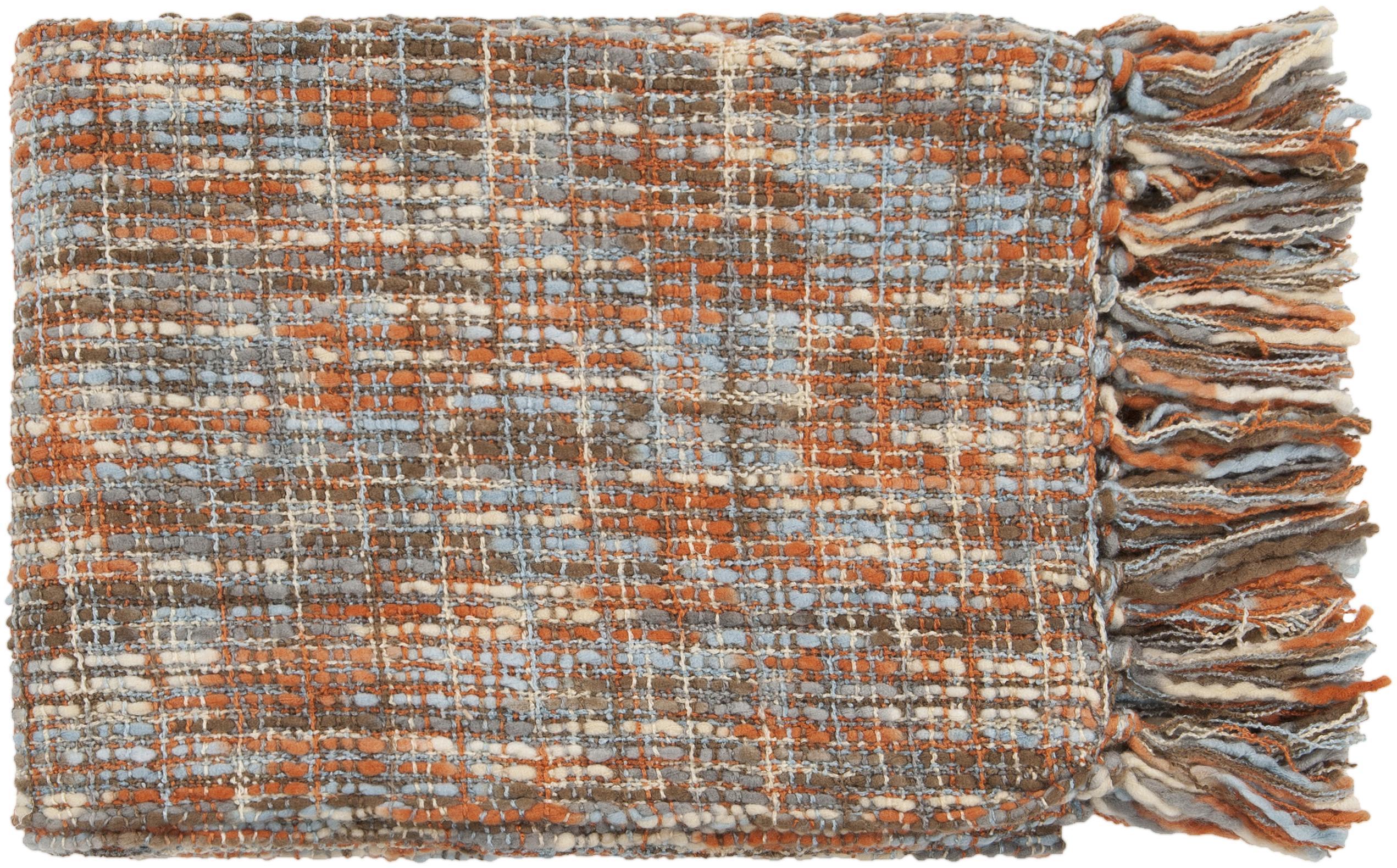 "Surya Throw Blankets Tabitha 50"" x 60"" Throw - Item Number: TAT8206-5060"