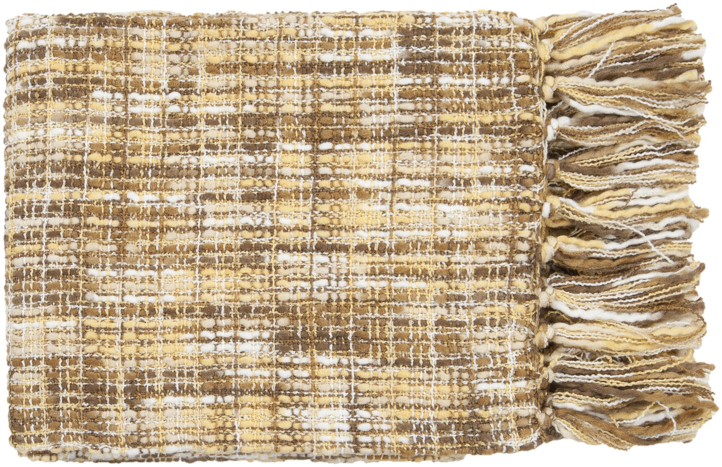 "Surya Throw Blankets Tabitha 50"" x 60"" Throw - Item Number: TAT8208-5060"