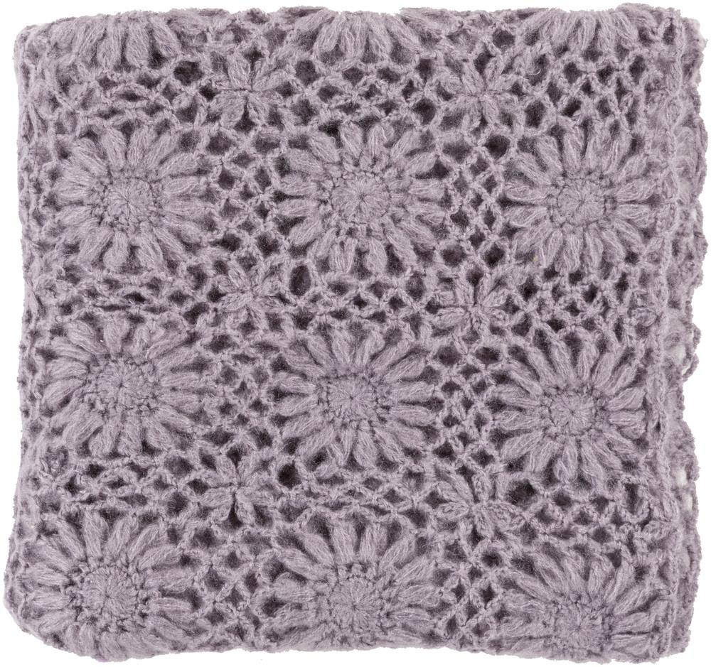 "Surya Throw Blankets Teresa 50"" x 60"" Throw - Item Number: TEA2003-5060"