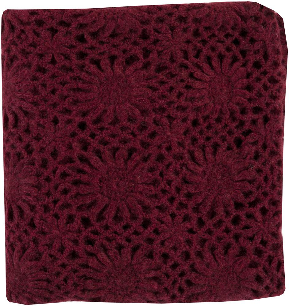 "Surya Throw Blankets Teresa 50"" x 60"" Throw - Item Number: TEA2004-5060"