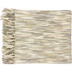 "Surya Throw Blankets Teegan 55"" x 78"" Throw"