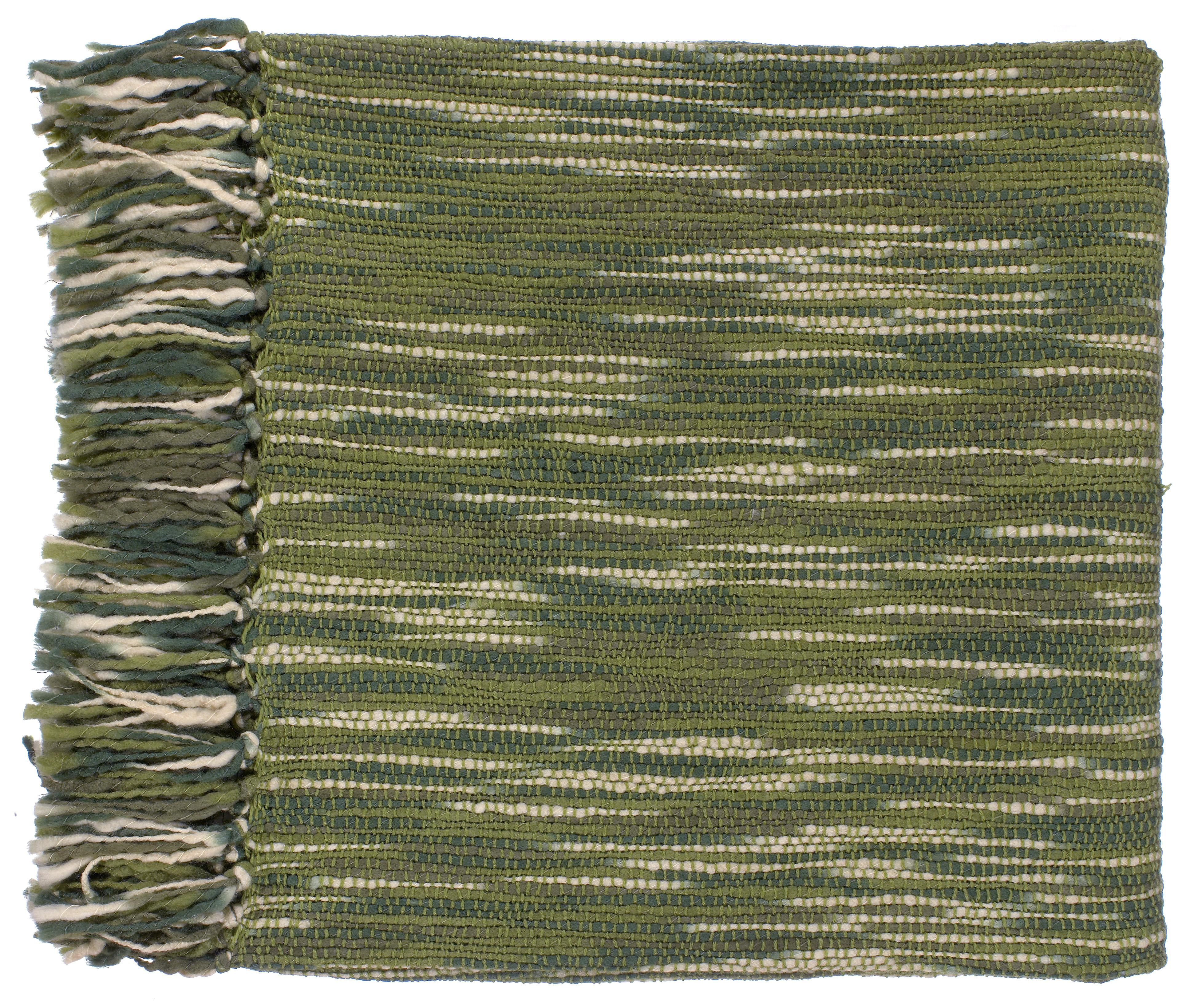 "Surya Throw Blankets Teegan 55"" x 78"" Throw - Item Number: TEE1006-5578"