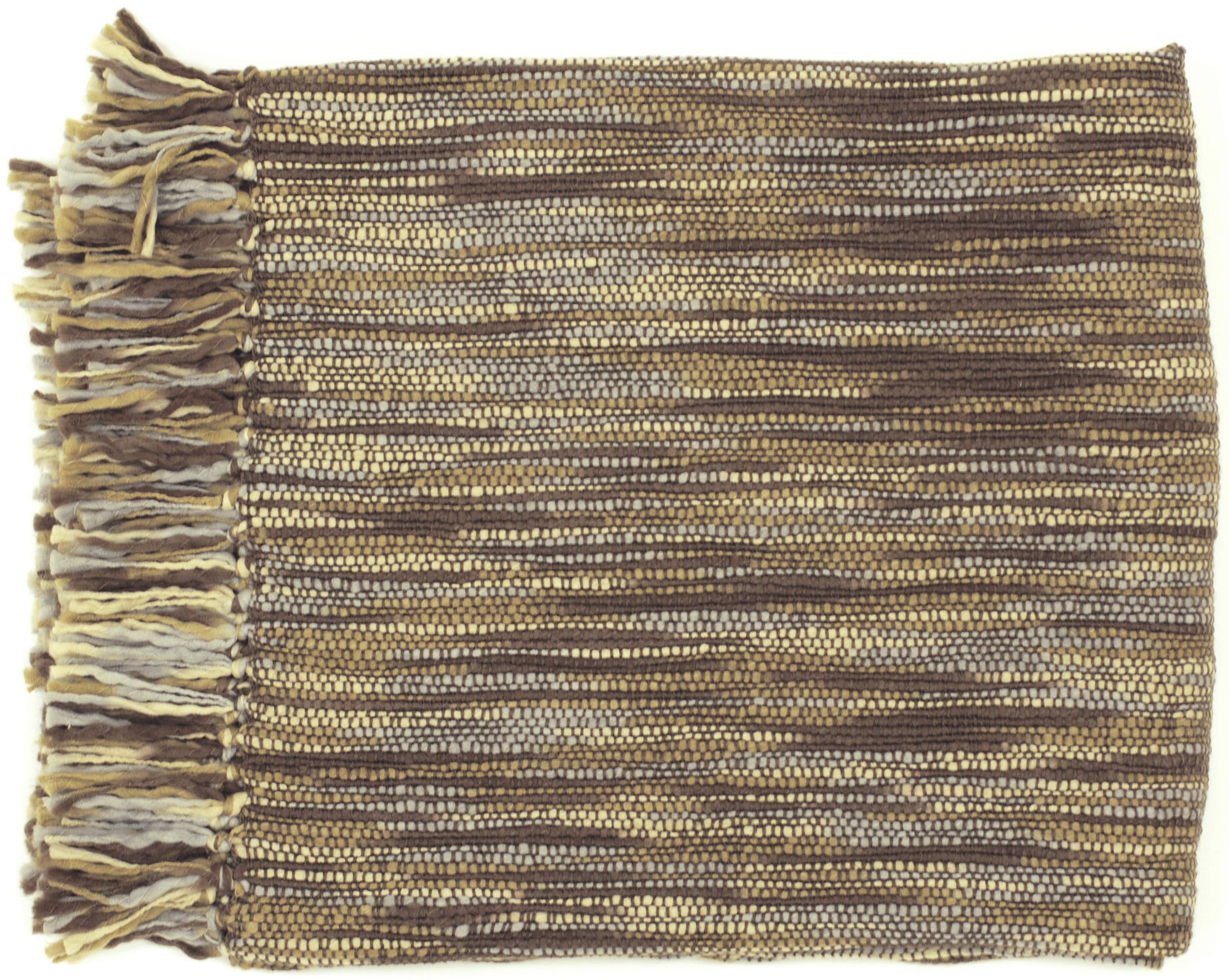 """Surya Rugs Throw Blankets Teegan 55"""" x 78"""" Throw - Item Number: TEE1007-5578"""