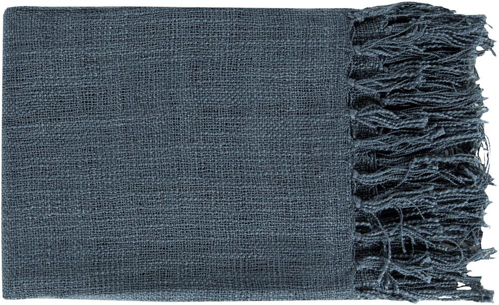 "Surya Throw Blankets Tilda 59"" x 51"" Throw - Item Number: TID001-5951"