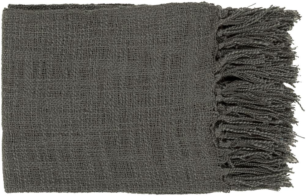 "Surya Throw Blankets Tilda 59"" x 51"" Throw - Item Number: TID003-5951"