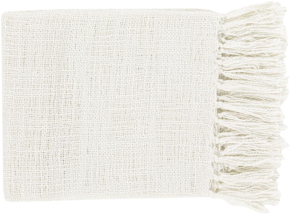 "Surya Throw Blankets Tilda 59"" x 51"" Throw - Item Number: TID004-5951"