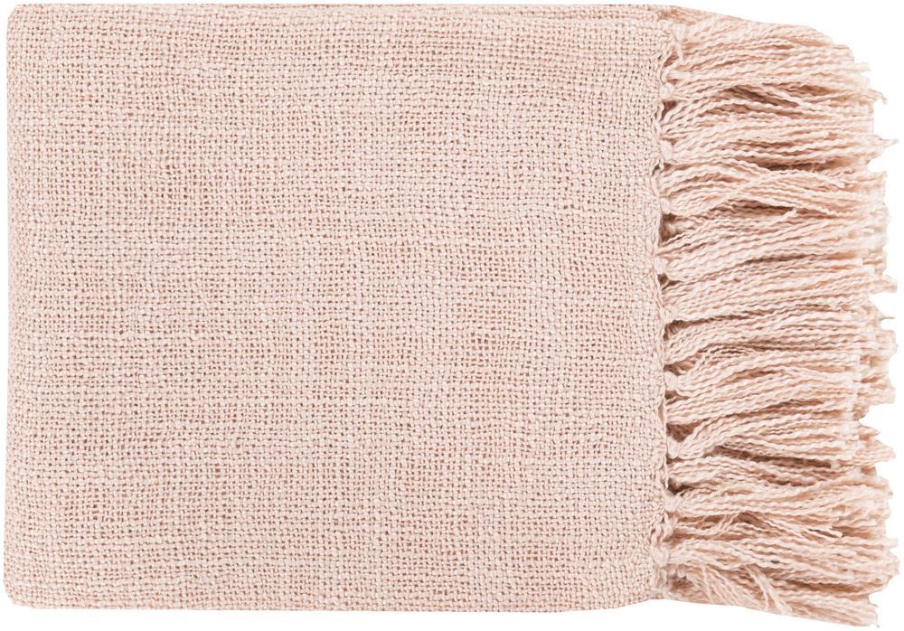"Surya Throw Blankets Tilda 59"" x 51"" Throw - Item Number: TID006-5951"