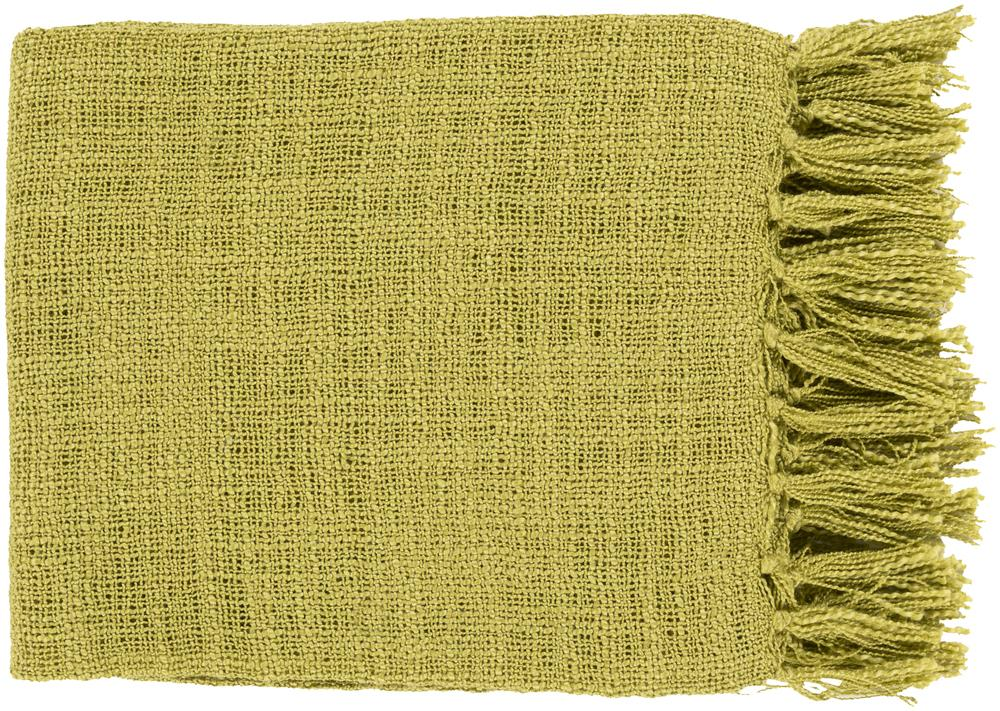"Surya Rugs Throw Blankets Tilda 59"" x 51"" Throw - Item Number: TID008-5951"