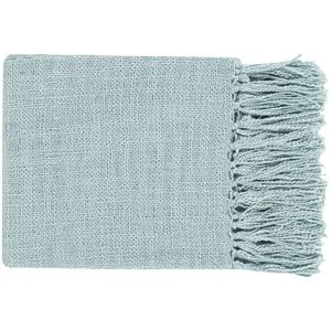 "Surya Rugs Throw Blankets Tilda 59"" x 51"" Throw"