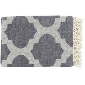 "Surya Throw Blankets Trellis 50"" x 70"" Throw"