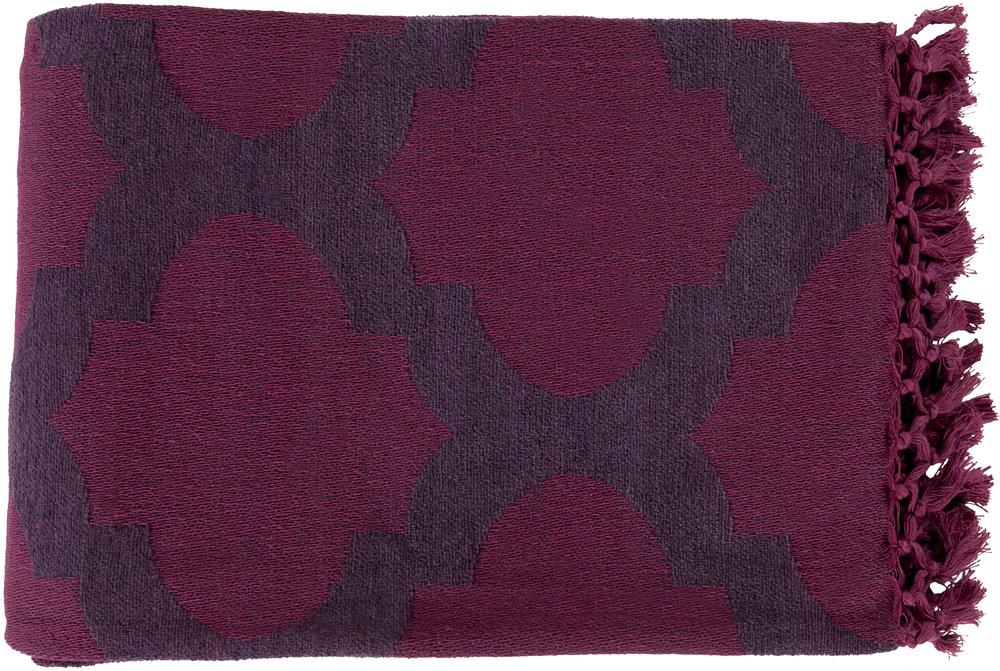 "Surya Throw Blankets Trellis 50"" x 70"" Throw - Item Number: TLS7002-5070"