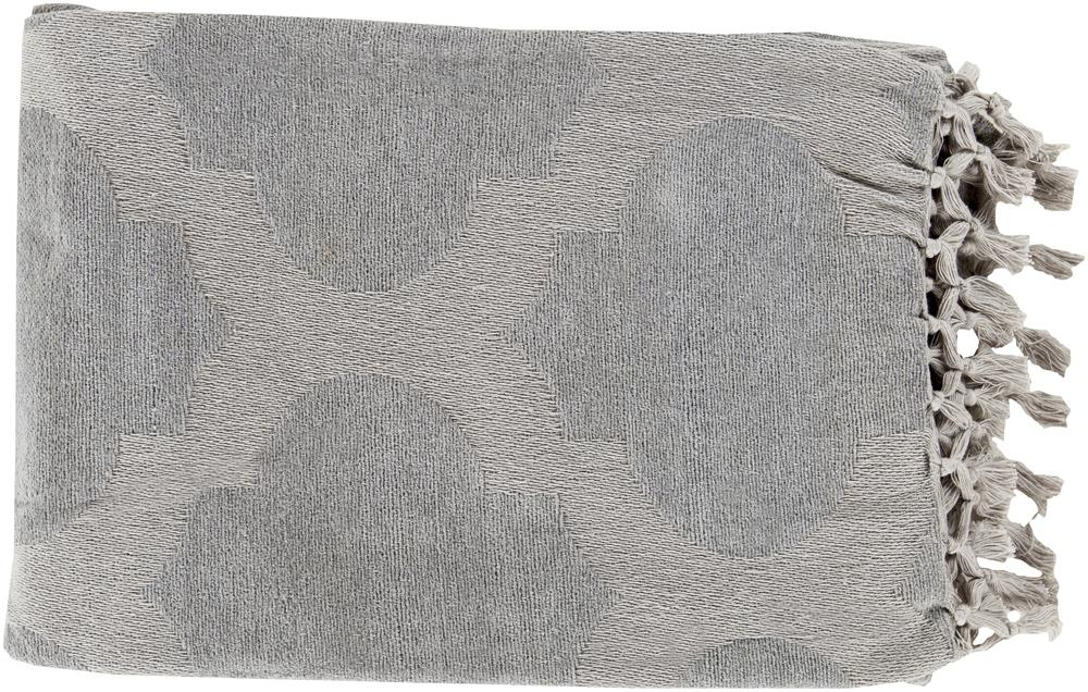 "Surya Throw Blankets Trellis 50"" x 70"" Throw - Item Number: TLS7004-5070"
