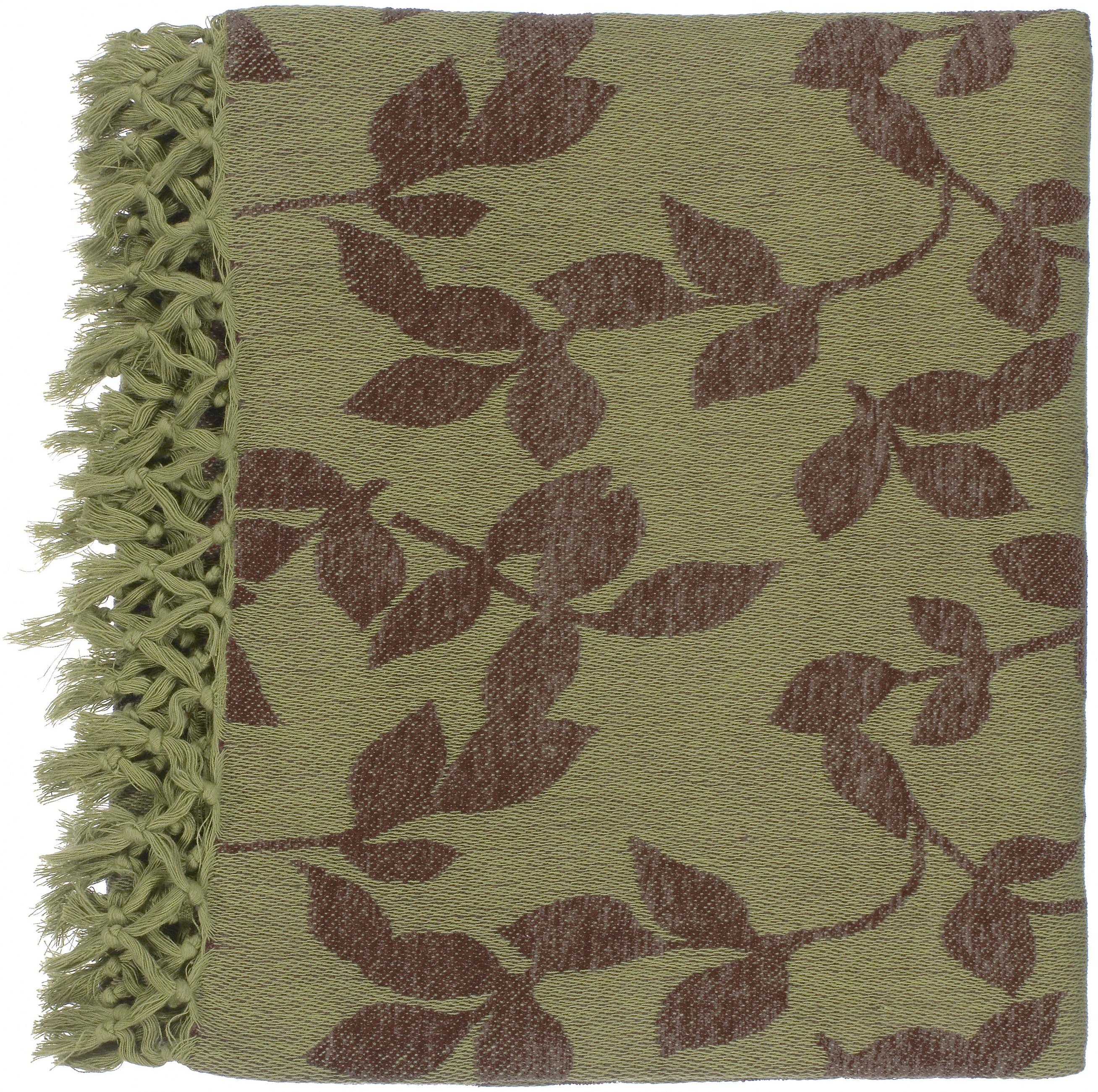 "Surya Rugs Throw Blankets Timora 50"" x 70"" Throw - Item Number: TMR2001-5070"